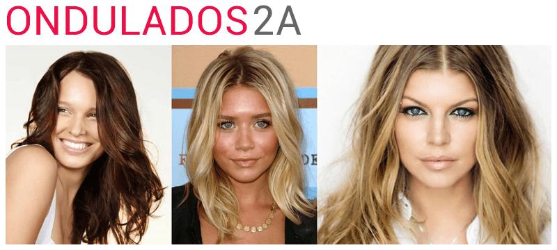 cabelos ondulados tipo 2A