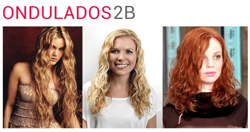 cabelos ondulados 2B