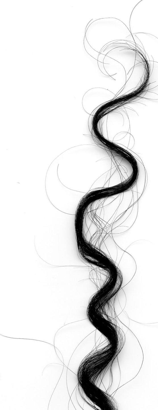 Qual a composição química do fio de cabelo?