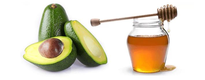 Receita caseira para cachos - Abacate com mel