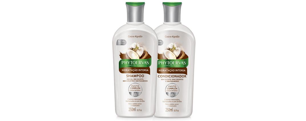 Resenha – Shampoo e Condicionador Phytoervas Hidratação Intensa