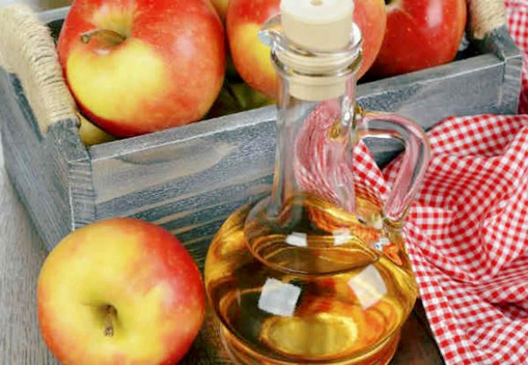 Reconstrução ácida com vinagre de maçã – SOS cabelo