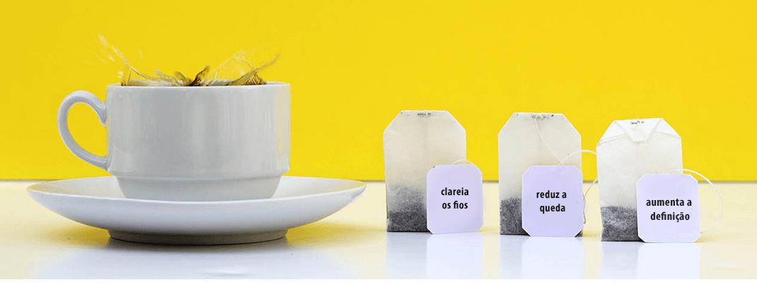 Como usar chás no cabelo – Tutorial completo