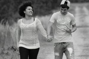 relacionamento e transição capilar - casal