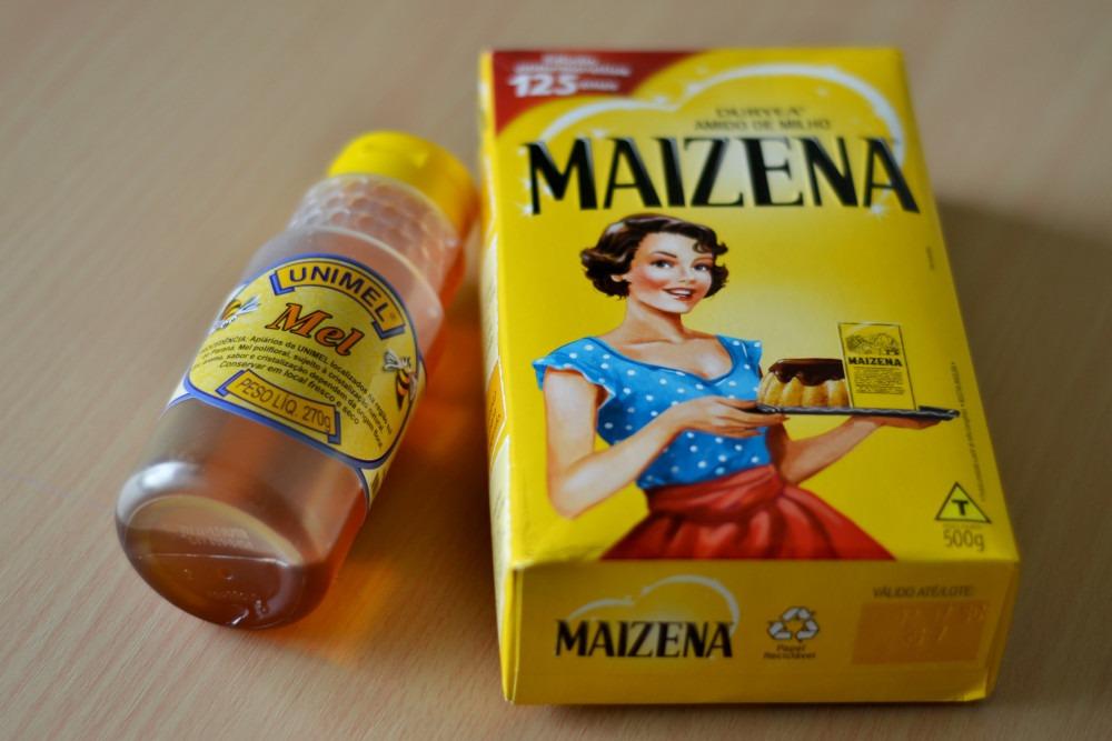 Receita Caseira – Hidratação de Maizena e Mel