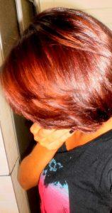 Primeira vez que tonalizei o cabelo - Tonalizante 6.66 (Louro escuro vermelho intenso)