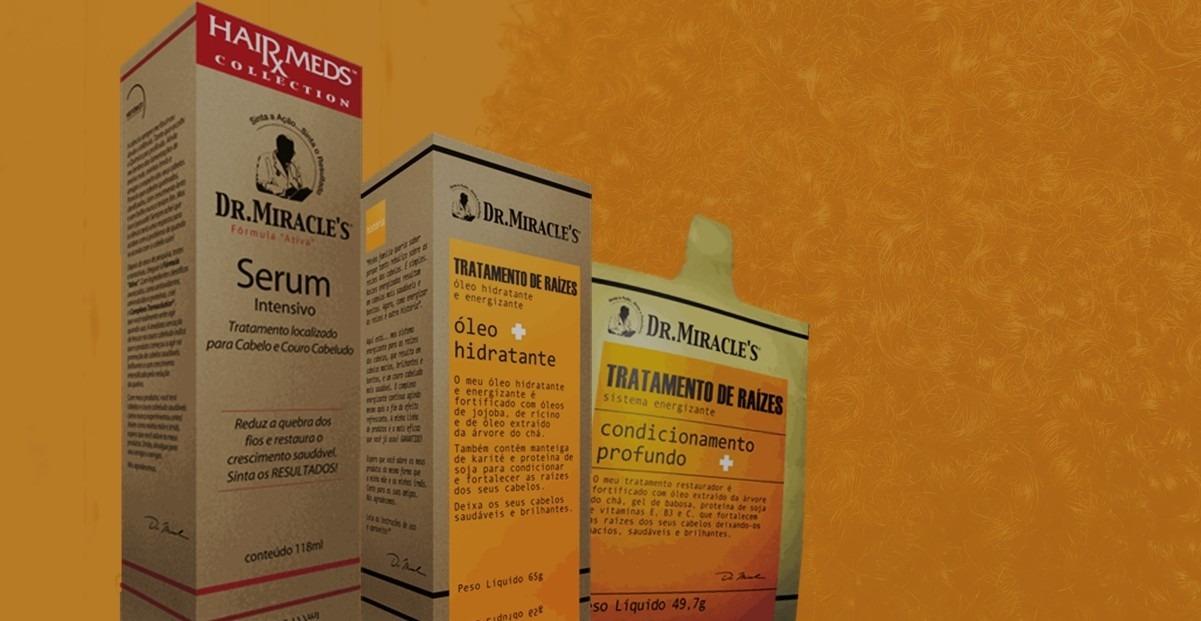 produtos dr miracles cabelos crespos