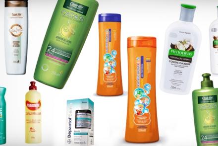 produtos para cabelos cacheados