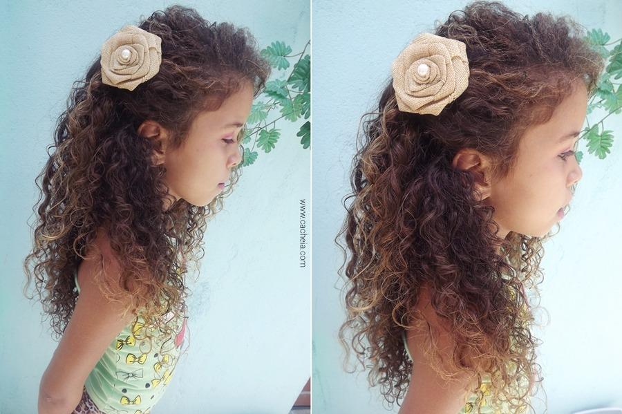 penteados Para cabelos cacheados longos das morenas
