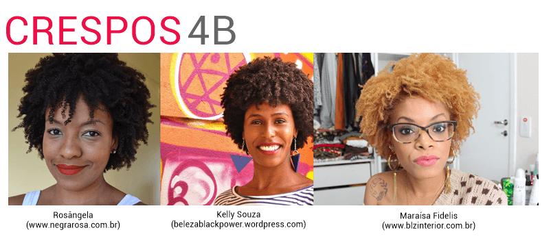 cabelo crespo tipo 4B