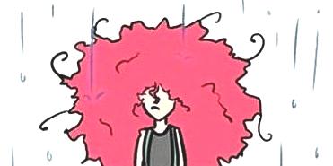 Cachos na chuva: dicas de cuidado