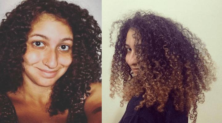 Californianas em cabelo cacheado
