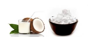 Leite de coco para os cabelos: maizena e leite de coco