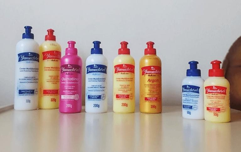 Produtos Yamasterol: Queratina, Proteína Hidrolisada, Argan e Babosa