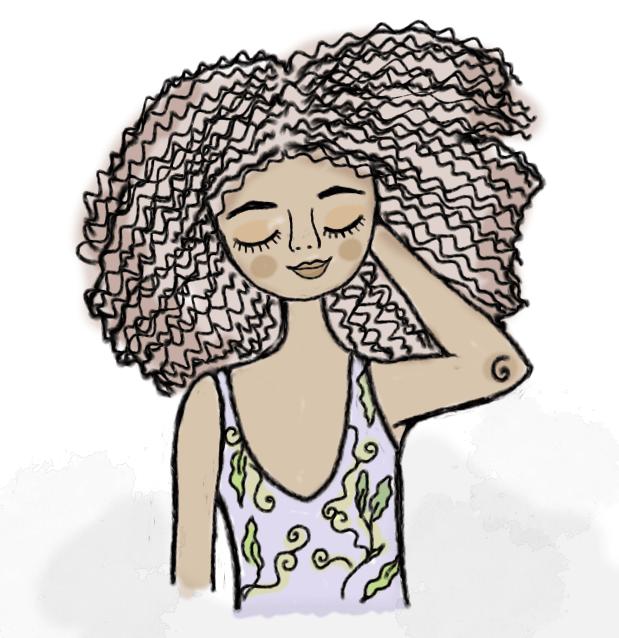 fitagem desconstruída: mais volume para cabelos crespos