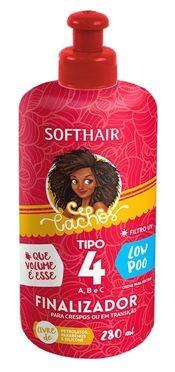 Finalizadores para cabelo crespo liberado para low poo - finalizador tipo 4 Soft Hair