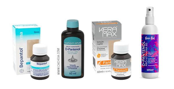 d-pantenol no cabelo: alguns produtos liberados para low poo