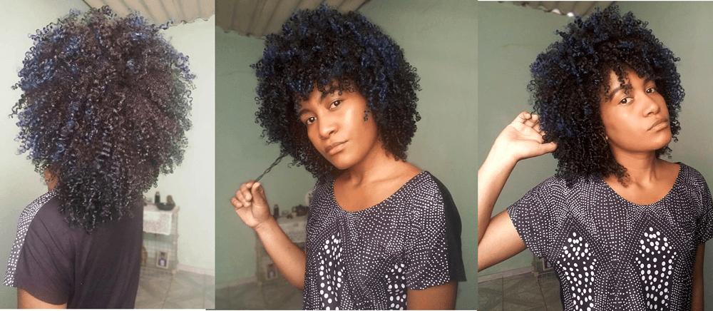 hidratação caseira para cabelos ressecados resultado em cabelo crespo