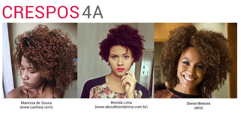 cabelo crespo 4A tipo 4A