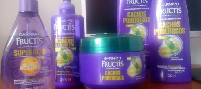 Resenha Garnier Fructis Cachos Poderosos
