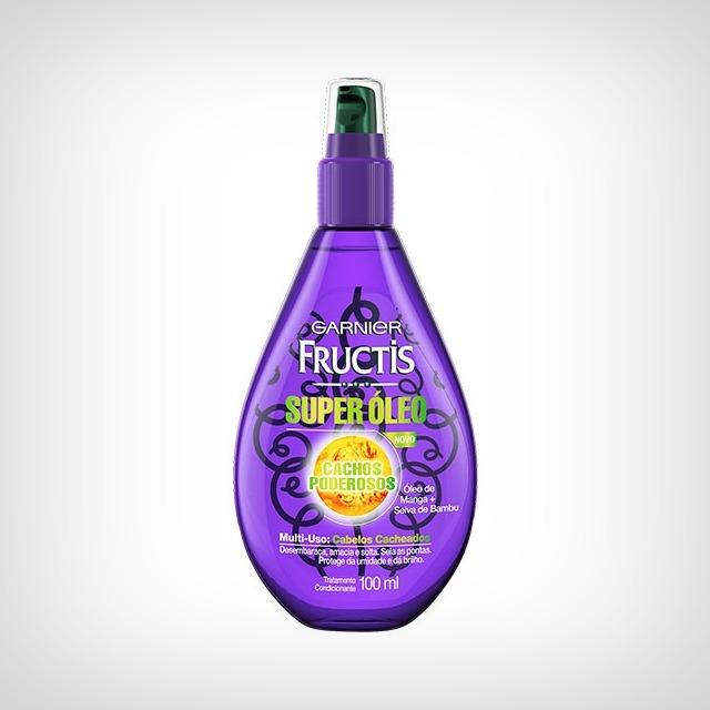 óleo para cabelos cacheados e crespos low poo