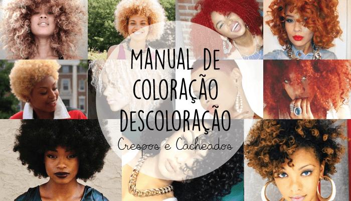 Manual De Coloração E Descoloração Cabelos Crespos