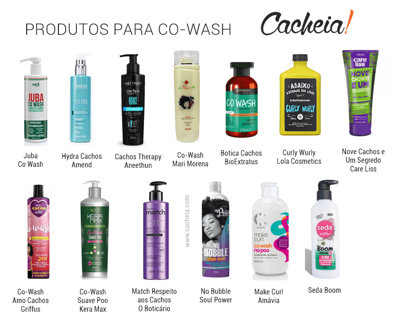 produtos para co-wash no poo low poo guia low poo cacheia