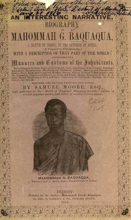 Biografia de Mahommah Baquaqua