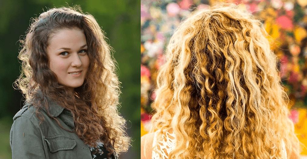 Cabelo ondulado 2C finalização cabelos ondulados