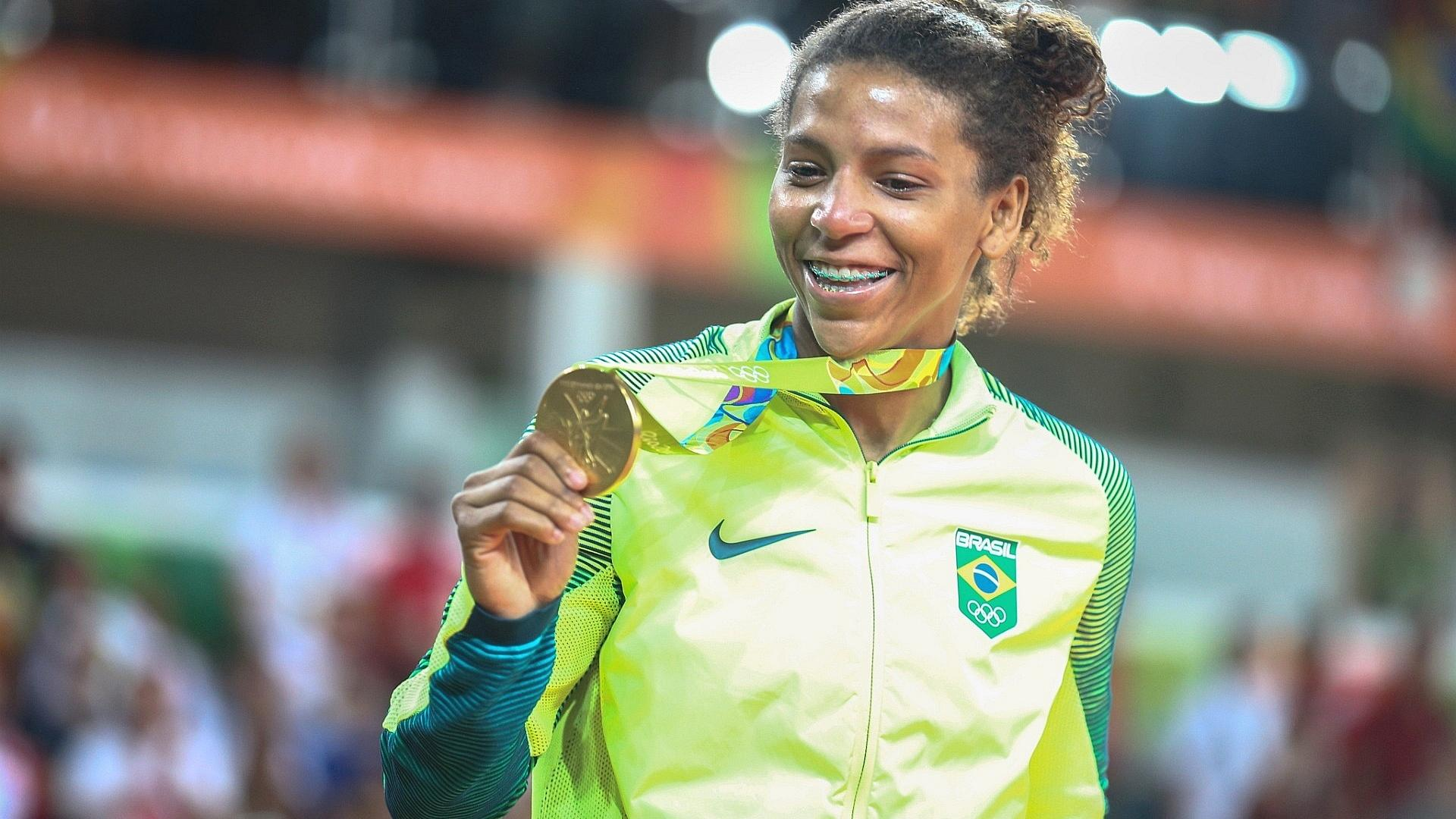 Rafaela Silva - Atletas femininas das Olimpíadas 2016