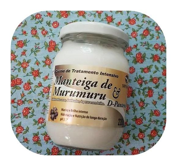 Melhores máscaras para low poo - manteiga de murumuru Soft Hair