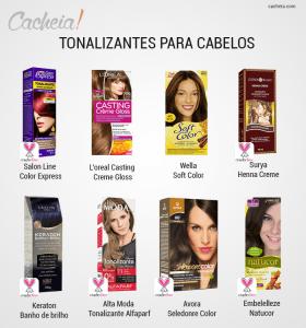 Tonalizantes: solução para cabelos brancos