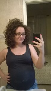 Foto do corte de cabelo cacheado Mariana Boaretto