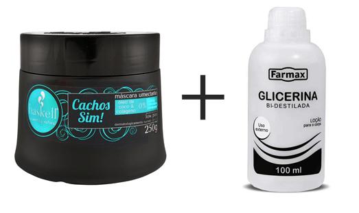 Como cuidar dos cachos depois da piscina - receita de hidratação máscara cachos sim e glicerina