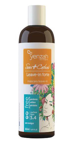 Finalizadores para cabelo crespo liberado para low poo - Yenzah Sou+Cachos Leave-in Ativador Forte