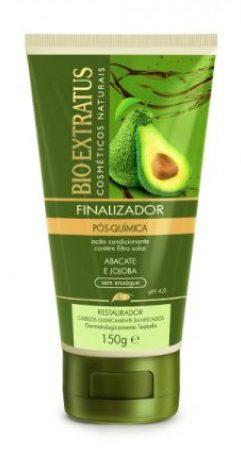 Finalizadores para cabelo crespo liberado para low poo - Finalizador pós quimica abacate Bio Extratus