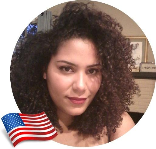 Cuidados com cabelos crespos no exterior, Isabela, Estados Unidos