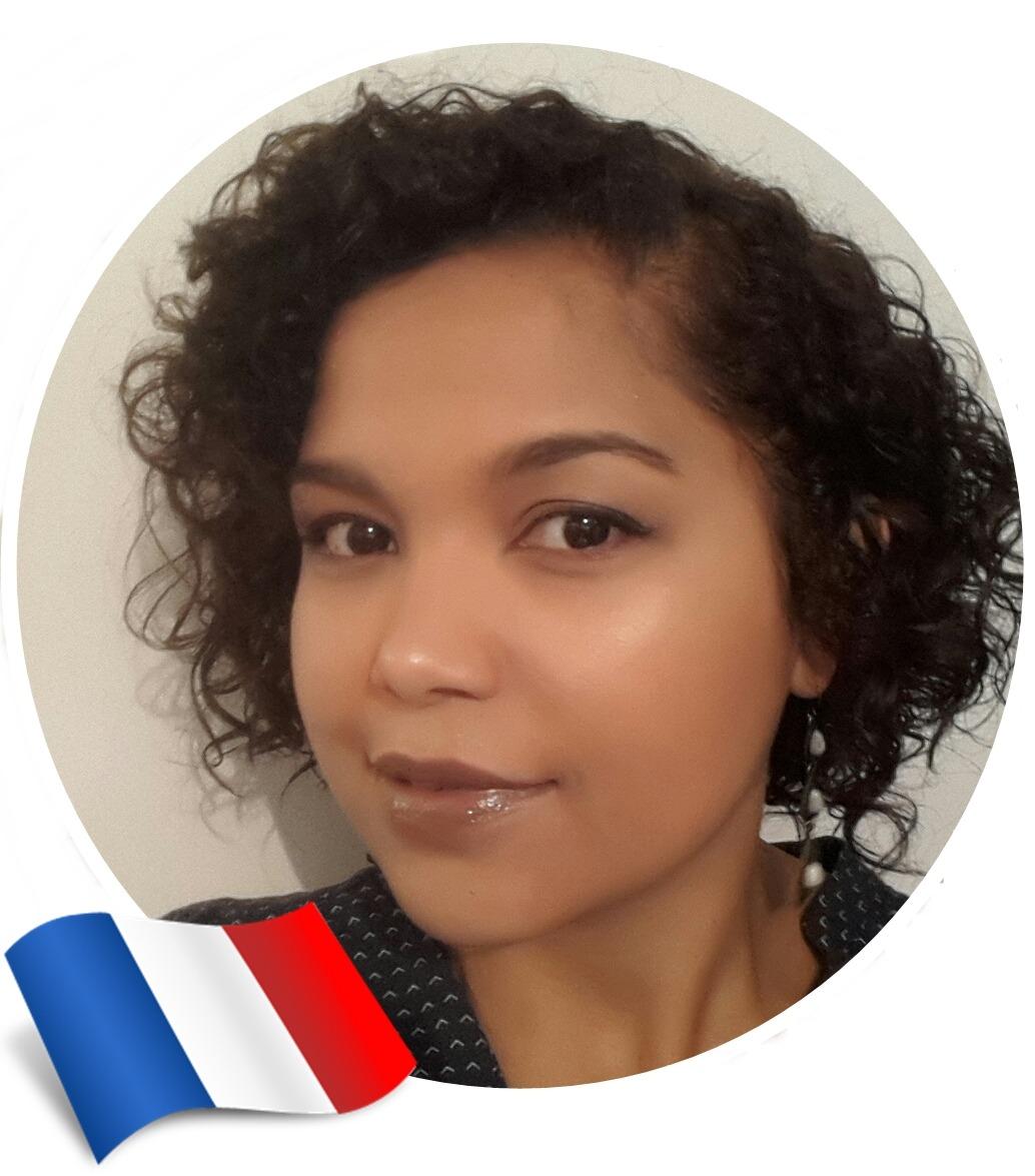 Cuidados com cabelos cacheados no exterior, Luana, França