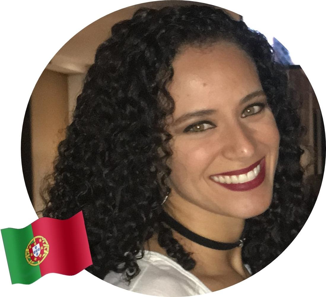 Cuidados com cabelos cacheados no exterior, Tamara, Portugal
