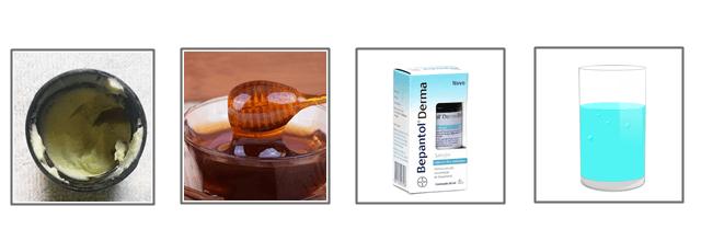 hidratação caseira para cabelos ressecados com manteiga de cupuaçu, mel, d-pantenol e água