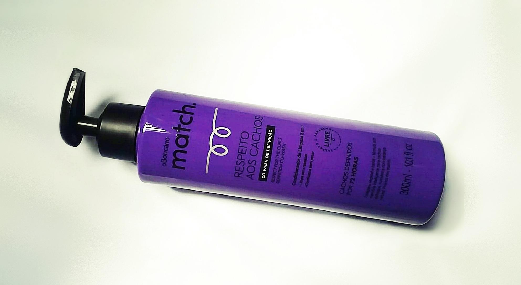b5090b33f O Boticário lançou recentemente uma linha específica para o tratamento de cabelos  cacheados e crespos. A Match Respeito aos Cachos é composta por Creme ...